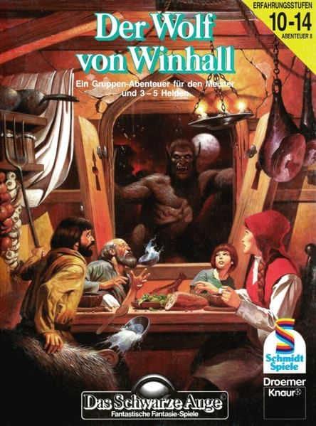 Der Wolg von Winhall DSA Abenteuer A8