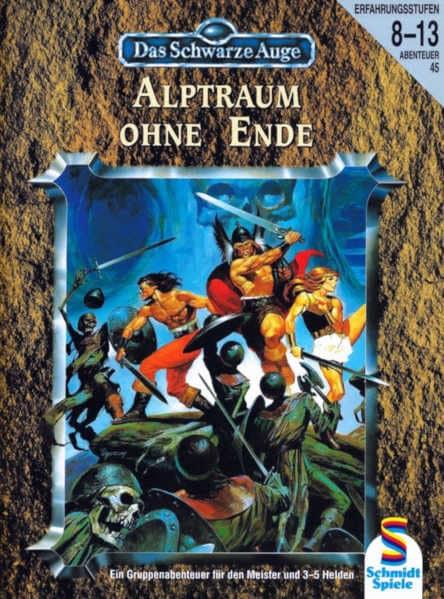 Alptraum ohne Ende DSA Abenteuer A45