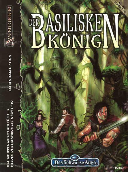 Der Basiliskenkönig DSA Abenteuer A108