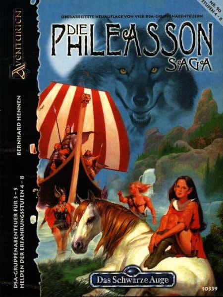 Die Phileasson-Saga DSA Abenteuer A90
