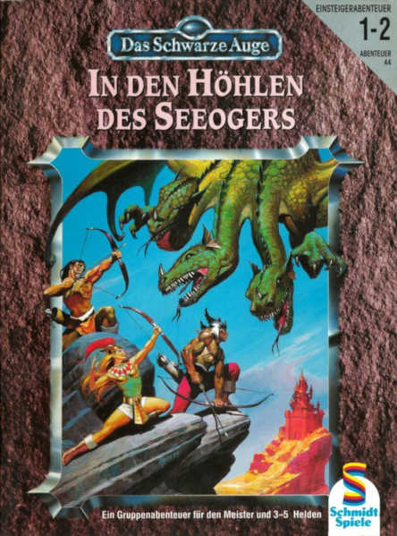 In den Höhlen des Seeogers DSA Abenteuer A44