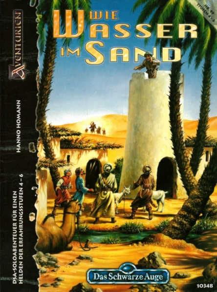 Wie Wasser im Sand DSA Abenteuer A99