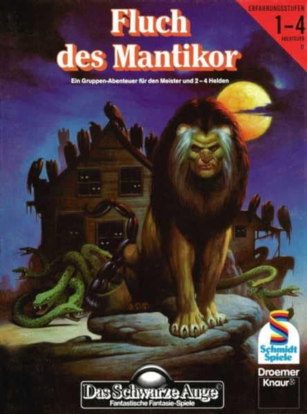 Der Fluch des Mantikor DSA Abenteuer B21