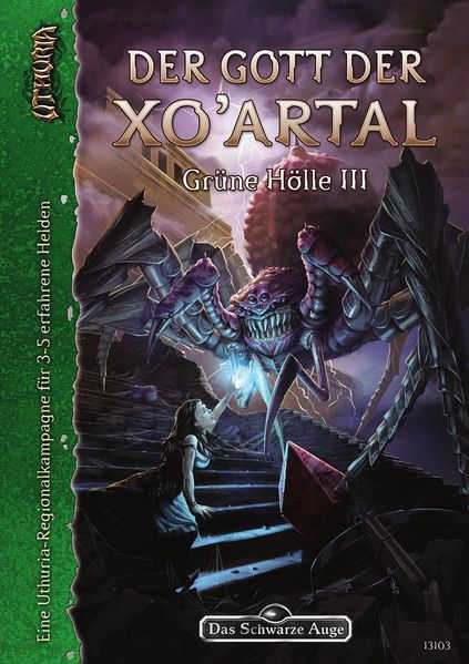 Der Gott der Xo'Artal DSA Abenteuer U3