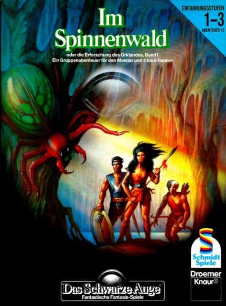 Im Spinnenwald DSA Abenteuer B15