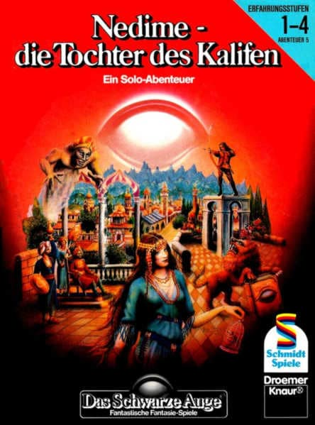 Nedime - die Tochter des Kalifen DSA Abenteuer B5