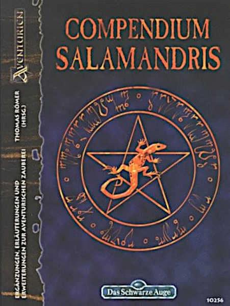 Compendium Salamandris DSA 3 Spielhilfe