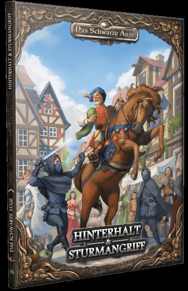 Hinterhalt & Sturmangriff DSA Abenteuer Anthologie